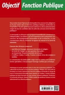 Le droit public en 20 leçons - 9e édition