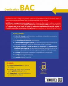L'anglais en seconde (2de). Destination BAC. Méthodes et outils, dossiers thématiques, activités corrigées, fichiers audio. (Nouveau programme).