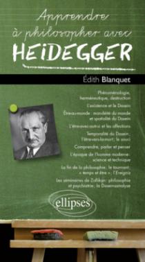 Apprendre à philosopher avec Heidegger
