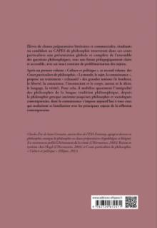 Cours particuliers de philosophie. Vol.2 La morale, le sujet, la connaissance  - Le bonheur, la liberté, la conscience, l'inconscient, le corps, autrui et le désir, le langage, la vérité