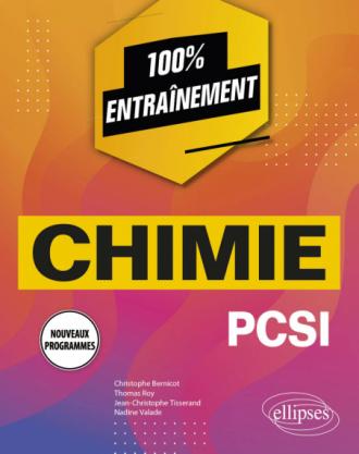 Chimie PCSI - Nouveaux programmes