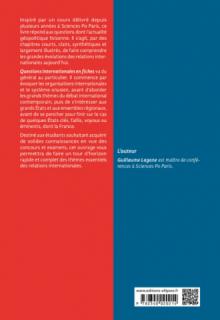 Questions internationales en fiches - 3e édition revue et augmentée