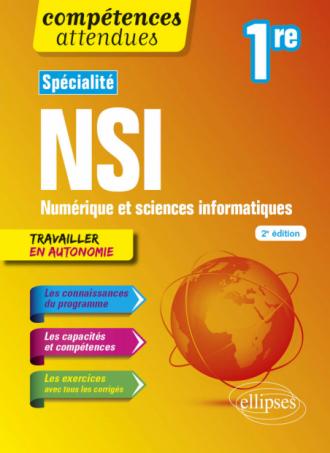 Spécialité NSI - Numérique et sciences informatiques - Première - 2e édition
