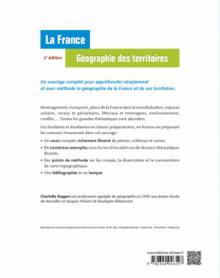 La France - Géographie des territoires - 2e édition