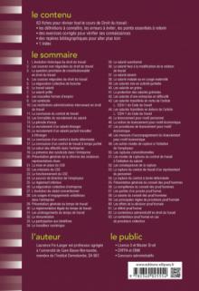 Fiches de Droit du travail  - 7e édition revue et augmentée