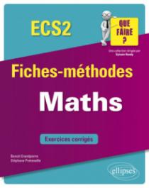 Mathématiques ECS 2e année
