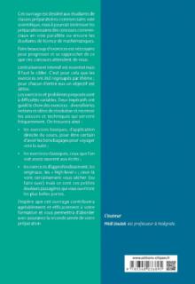 500 exercices de mathématiques en ECS - 1re année - 2e édition