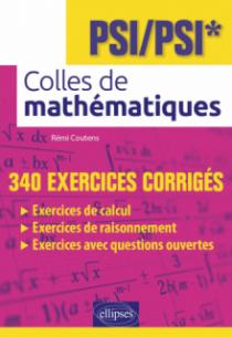 Colles de mathématiques - PSI/PSI*