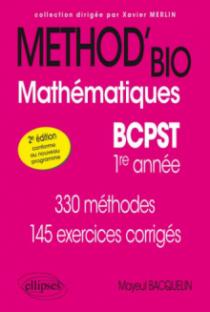 Mathématiques BCPST-1re année - 2e édition conforme au nouveau programme