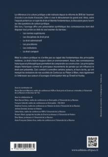 Culture générale juridique (PréCAPA / CRFPA - Grand Oral)