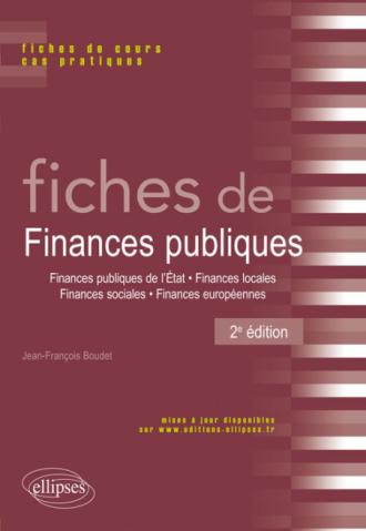 Fiches de Finances publiques - 2e édition
