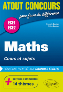 Mathématiques - cours et sujets - classes préparatoires ECE 1 et ECE 2