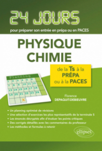 Physique-chimie - 24 jours pour préparer son entrée en prépa
