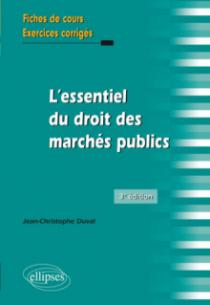 L'essentiel du droit des marchés publics - 3e édition