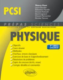 Physique PCSI - 4e édition actualisée