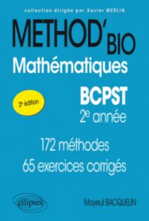 Mathématiques BCPST-2e année - 2e édition conforme au nouveau programme