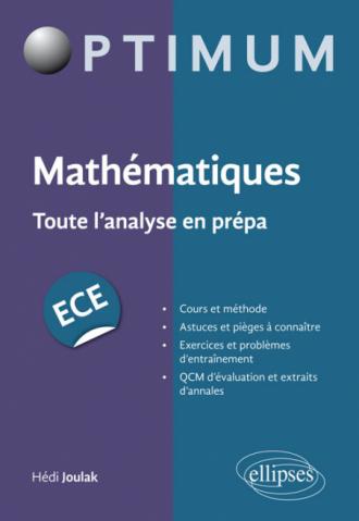 Mathématiques : Toute l'analyse en prépa ECE