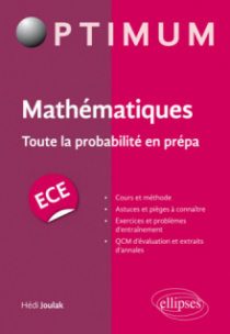 Mathématiques : Toute la probabilité en prépa ECE