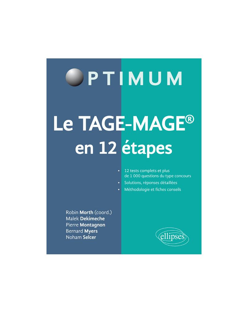 Le TAGE-MAGE® en 12 étapes