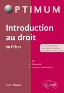 Introduction au droit en fiches