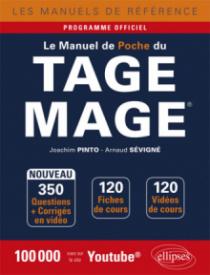 Le Manuel de poche du Tage Mage® - 120 fiches de cours, 350 questions + corrigés en vidéo