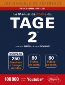 Le Manuel de poche du Tage 2® - 80 fiches de cours, 250 questions + corrigés en vidéo