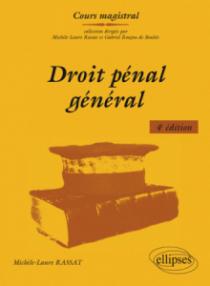 Droit pénal général - 4e édition