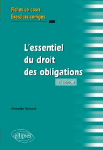 L'essentiel du droit des obligations - 3e édition