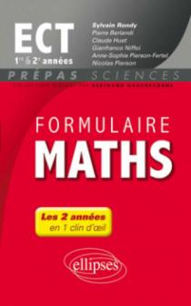 Formulaire Maths ECT 1re et 2e années