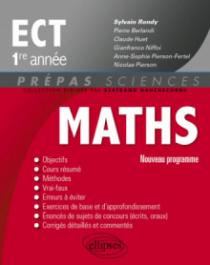 Mathématiques ECT 1re année - nouveau programme 2014