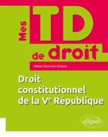 Droit constitutionnel de la Ve République