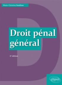 Droit pénal général - 6e édition