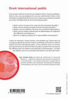 Droit international public - 3e édition