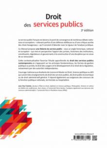 Droit des services publics - 3e édition