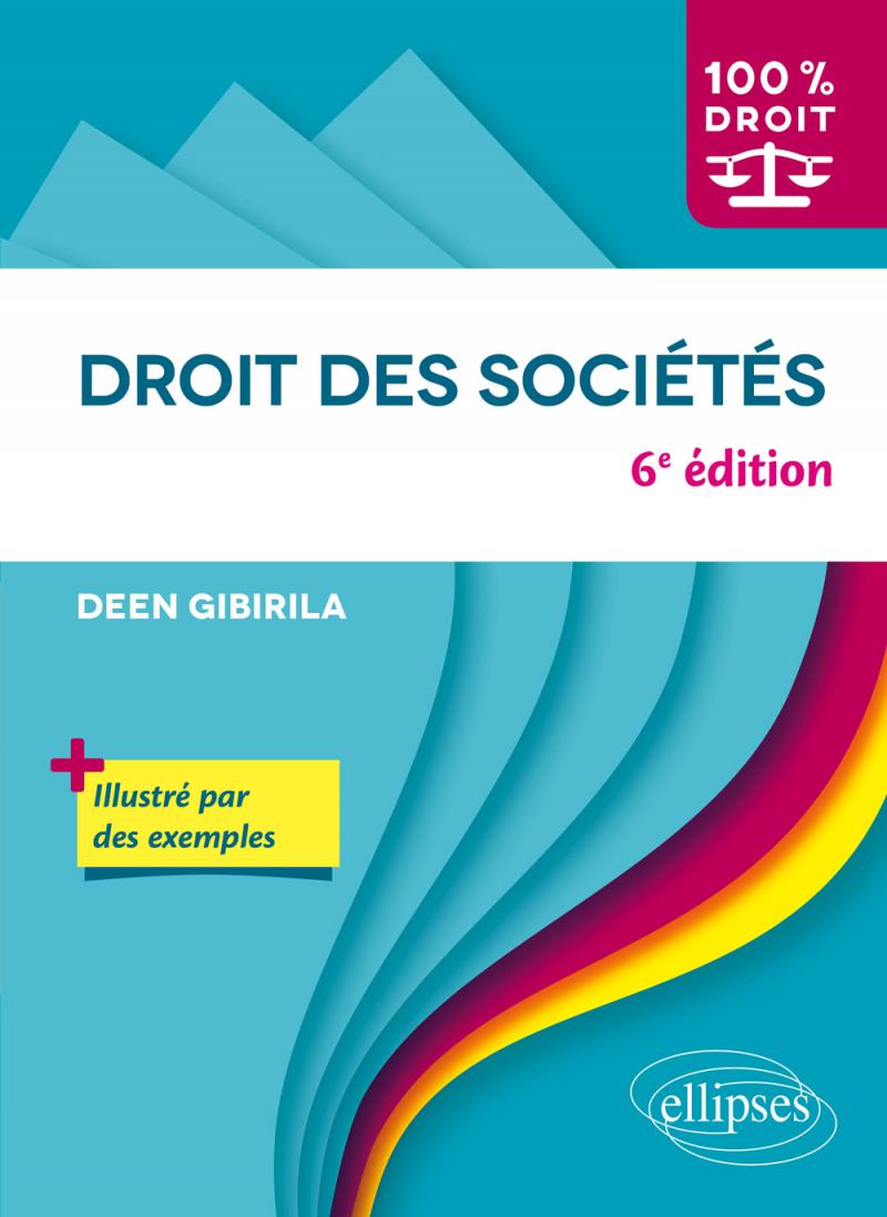 Droit des sociétés - 6e édition
