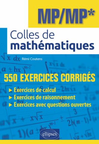 Colles de mathématiques - MP/MP*