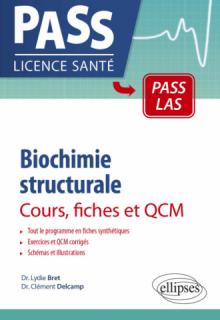 Biochimie structurale - Cours, fiches et QCM