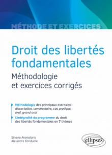 Droit des libertés fondamentales - Méthodologie et exercices corrigés