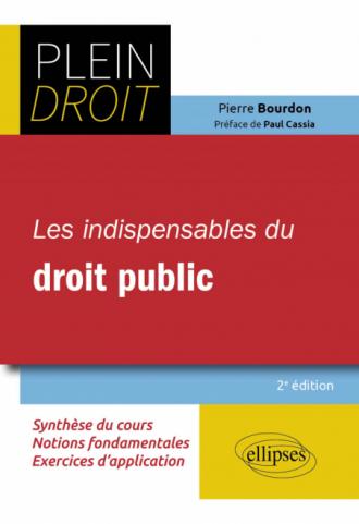 Les indispensables du droit public - 2e édition