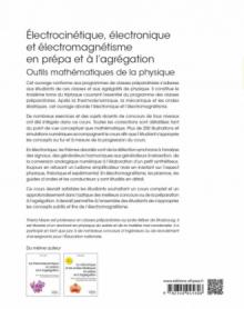Électrocinétique, électronique et électromagnétisme en prépa et à l'agrégation - Outils mathématiques de la physique - Compléments de cours X-ENS