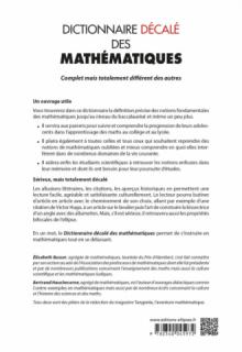 Dictionnaire décalé des mathématiques