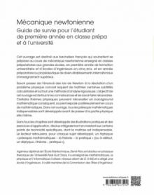 Mécanique newtonienne - Guide de survie pour l'étudiant de première année en classe prépa et à l'université
