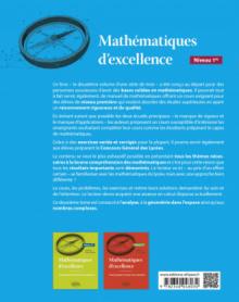 Mathématiques d'excellence - Cours pour lycéens très motivés - Niveau Première