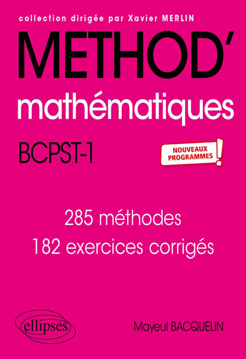 Mathématiques BCPST 1re année - Nouveaux programmes