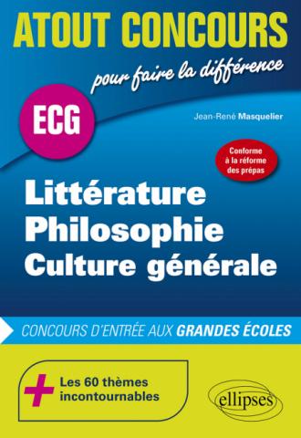 Littérature, philosophie, culture générale - Nouveaux programmes