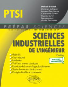 Sciences industrielles de l'ingénieur PTSI - Programme 2021 - 3e édition