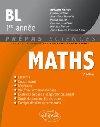 Mathématiques - BL 1re année - 2e édition - 2e édition