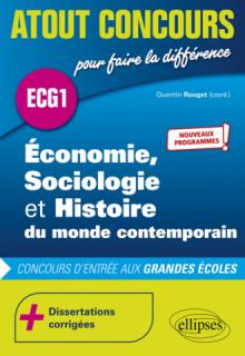 Économie, Sociologie et Histoire du monde contemporain - ECG1 - Nouveaux programmes