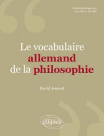 Vocabulaire allemand de la philosophie