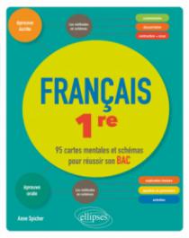 Français, Première. 95 cartes mentales et schémas pour réussir son bac